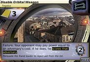 Disable Orbital Weapon