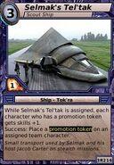 Selmak's Tel'tak (Scout Ship)