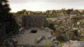 Planète aux ruines