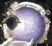 Asgard directed energy weapon firing