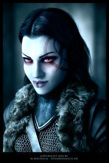 Kalya die woelfin vampire photomanipulation by kargain-d4u7vwk
