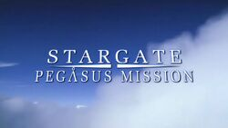 Stargate Atlantis Pegasus Mission preview