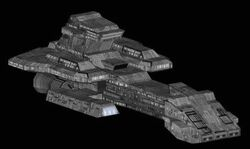 BC-303 Prometheus (paper model by Jaybats) preview