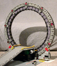 Stargate (Lego model by Kelly McKiernan) preview