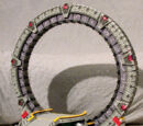 Stargate (Lego model by Kelly McKiernan)