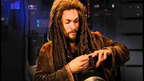 Stargate Atlantis - Interviews with Rachel Luttrell and Jason Momoa