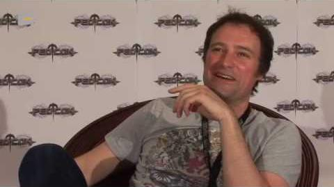 Interview with David Hewlett (Stargate Atlantis) at the FedCon 2010 by Serieasten.TV