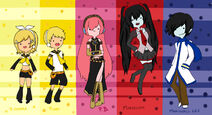 Adventure time vocaloid by kimikotohomikomii-d4e20lh