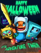 Pokemon-Adventure Time Halloween