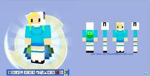Minecraft skin fionna from adventure time by hermesbird04-d53j9px