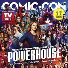 Comic Con magazine and first look at Stargirl
