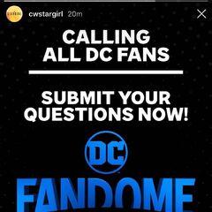 DC Fandome Event 8/22/2020