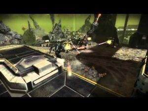Starhawk - Multiplayer Capture the Flag on Acid Sea HD 720p