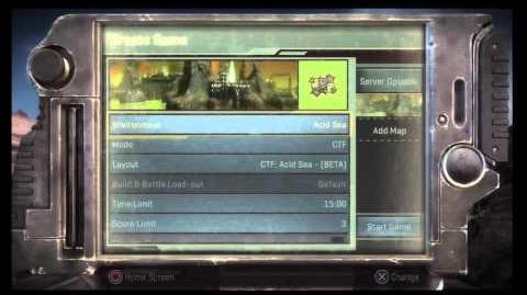 Starhawk Beta 1.0.1 Main Screen
