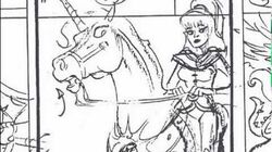 """Jewel Quest"" Story Reel - Princess Gwenevere (Starla) and the Jewel Riders - Animation Storyboard"
