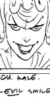 Kale evil smile