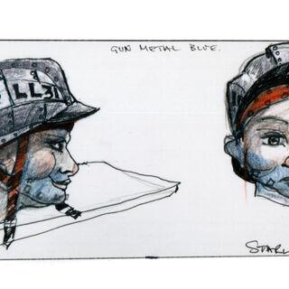 Revised 1986 headwear design