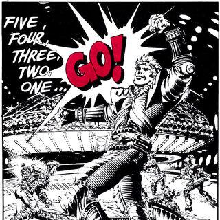 Comic Art style poster