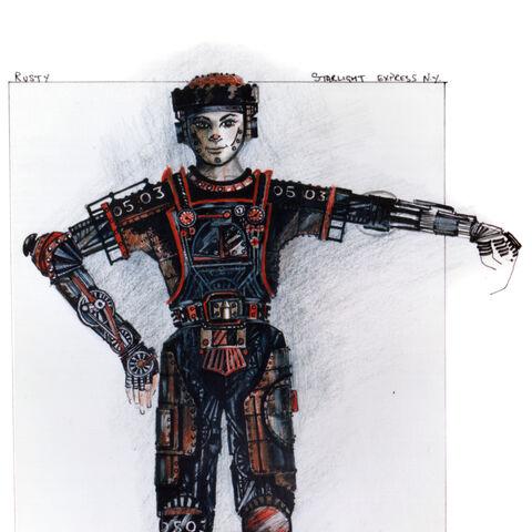 Rusty - Broadway design 1987