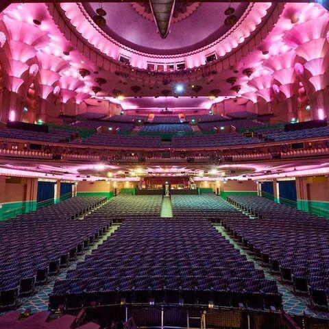 Fully restored Apollo Victoria auditorium, 2016