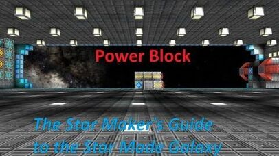 Power Block -Star Made - Star Maker's Guide to the Star Made Galaxy