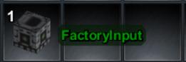 Factory Input