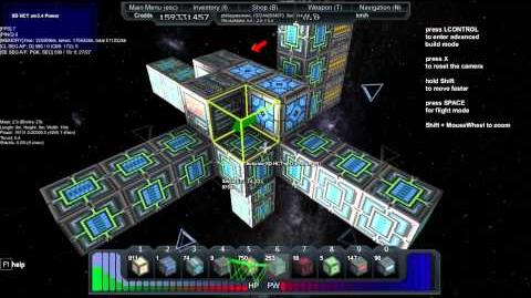 Starmade How to use the 0C Cloaking module and Radar Jamming module-0