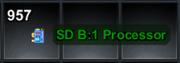 SD B;1