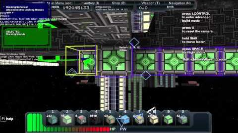 Starmade - How to expand a docking area