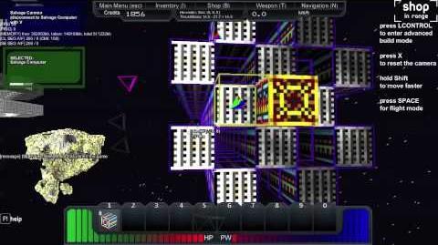 StarMade Video Tutorial - 002 Building a Harvester