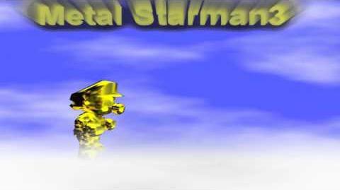 Metal Starman3 Test