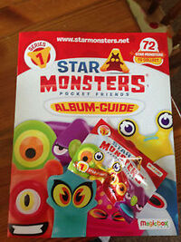 Star Monsters series 1 promo pack