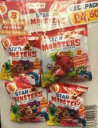 Star Monsters series 1 mega pack