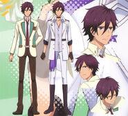Kuga's Character Design 1