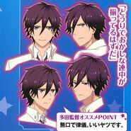 Kuga's Character Design 2