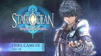 STAR OCEAN Integrity and Faithlessness – Fidel Spotlight