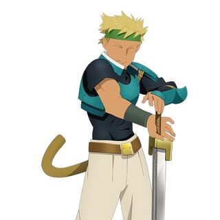 Dorne as he appears in <i>Star Ocean: First Departure</i>.