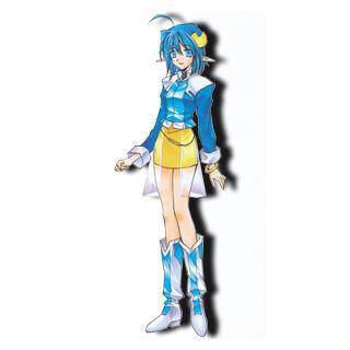 Rena as she appears in <i>Star Ocean: Blue Sphere</i>