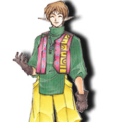 Noel as he appears in <i>Star Ocean: Blue Sphere</i>
