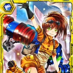 Precis as she appears in Star Ocean: Material Trader.