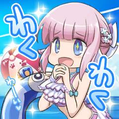 Summer Miki stamp (JP):