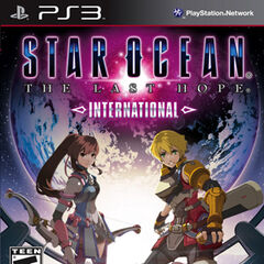 <i>Star Ocean: The Last Hope International</i> cover (North America).