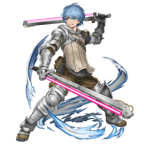 Yrian as he appears in Star Ocean: Anamnesis -Twin Eclipse-.