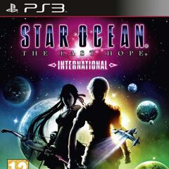 <i>Star Ocean: The Last Hope International</i> cover (Europe).