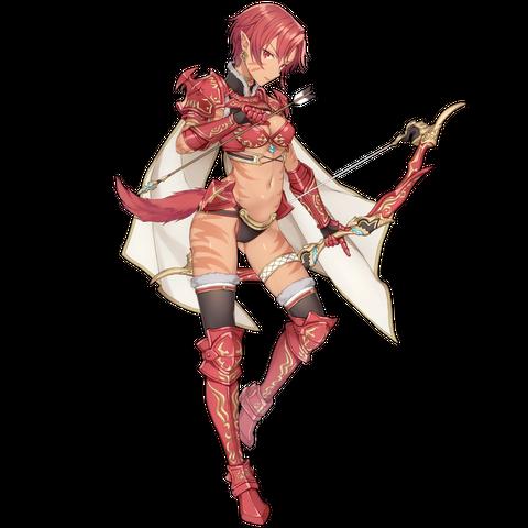 Crimson Grace Phia in Star Ocean: Anamnesis.
