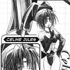 Celine as she appears in <i>Star Ocean: Blue Sphere</i> manga.