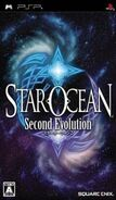 Star Ocean Second Evolution JPN Cover