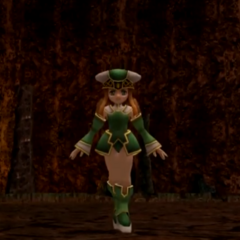 In-game model (<i>Till the End of Time</i>).