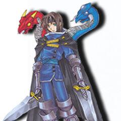 Ashton as he appears in <i>Star Ocean: Blue Sphere</i>