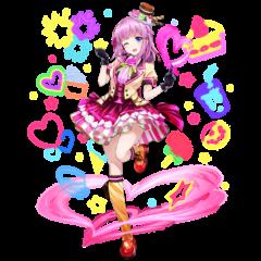 Singing Star Miki artwork by <a href=